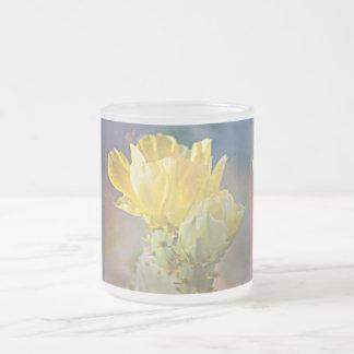 10oz Frosted Cactus Rose Mug
