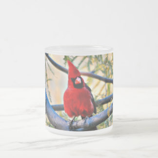 10oz Frosted Cardinal Mug