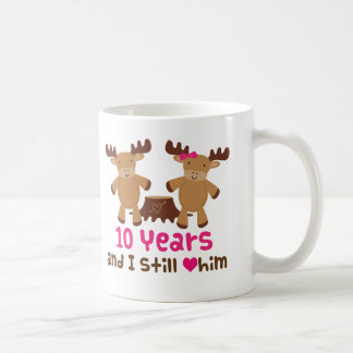 10th Anniversary Gift For Her Coffee Mug