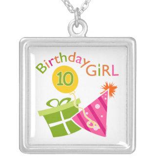 10th Birthday - Birthday Girl Necklace