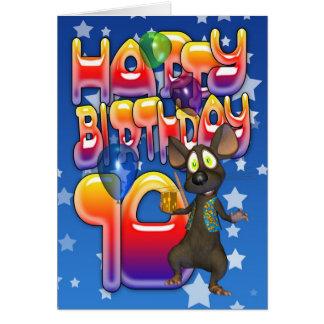 10th Birthday Card, Happy Birthday Card