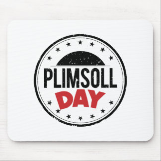 10th February - Plimsoll Day - Appreciation Day Mouse Pad