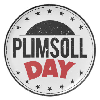 10th February - Plimsoll Day - Appreciation Day Plate