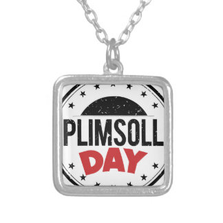 10th February - Plimsoll Day - Appreciation Day Silver Plated Necklace