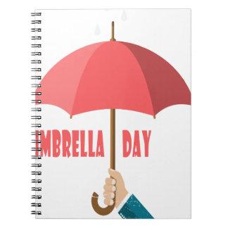 10th February - Umbrella Day - Appreciation Day Notebook