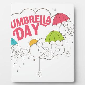 10th February - Umbrella Day - Appreciation Day Plaque
