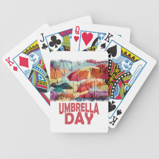 10th February - Umbrella Day - Appreciation Day Poker Deck