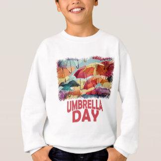 10th February - Umbrella Day - Appreciation Day Sweatshirt