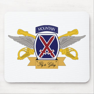 10th Mountain Division Aviation (AVN) Mouse Pad