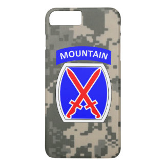"10th Mountain Division ""Climb to Glory"" iPhone 8 Plus/7 Plus Case"
