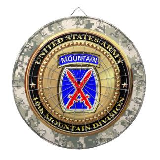 10th Mountain Division Dartboard