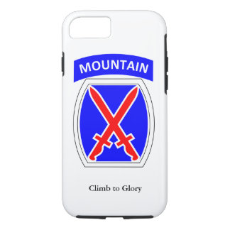 10th Mountain Division iPhone Case