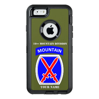 10th MOUNTAIN DIVISION OtterBox Defender iPhone Case