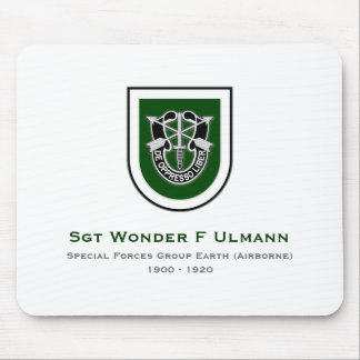 10th SFG-A 3 Mouse Pad