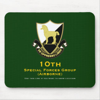 10th SFG-A DUI Mouse Pad