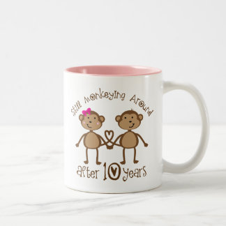 10th Wedding Anniversary Gifts Mugs