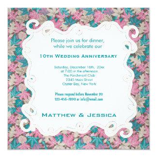 10th Wedding Anniversary Announcement