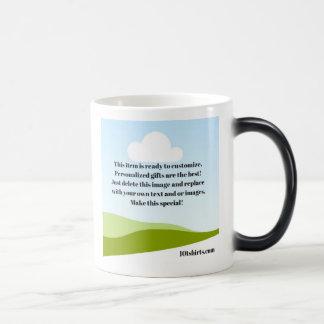 10tshirts.com morph mug. Lowest price on site! Magic Mug