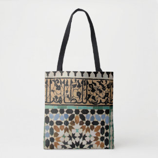 110 - Designer tote bag - Marrakech Medina tiles