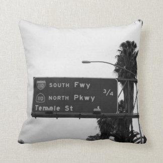 110 Freeway Sign Cushion