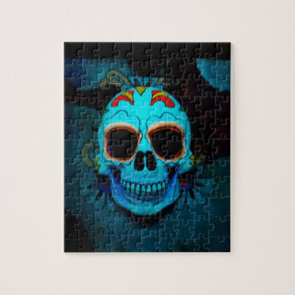 110 Piece Skull Puzzle With Gift Box