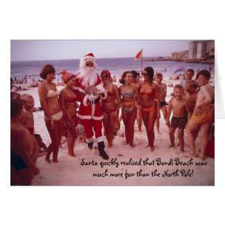 11306154, Santa chooses Bondi Note Card