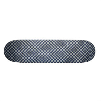 1155 NAVY BLUE GRID PAPER PATTERN TEMPLATE TEXTURE 21.6 CM OLD SCHOOL SKATEBOARD DECK