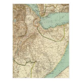 11617 Eritrea, Ethiopia, Somalia Postcard