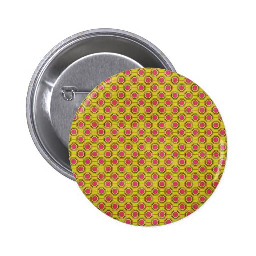 1161_geometric-05 GREENISH YELLOW   CLOUDY ABSTRAC Pinback Buttons