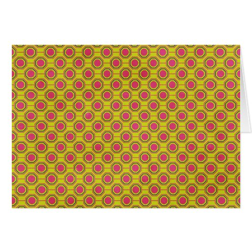 1161_geometric-05 GREENISH YELLOW   CLOUDY ABSTRAC Cards