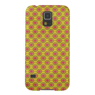 1161_geometric-05 GREENISH YELLOW   CLOUDY ABSTRAC Galaxy S5 Case