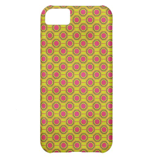 1161_geometric-05 GREENISH YELLOW   CLOUDY ABSTRAC Cover For iPhone 5C