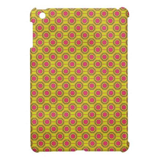 1161_geometric-05 GREENISH YELLOW   CLOUDY ABSTRAC iPad Mini Cases