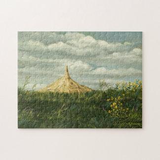 1170 Chimney Rock Landscape Jigsaw Puzzle