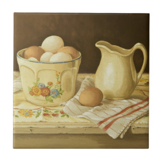 1175 Bowl of Eggs & Pitcher Tile