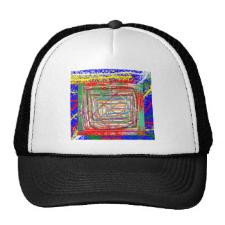 117 Elegant style of Tees with LINE ART Graphics Trucker Hat