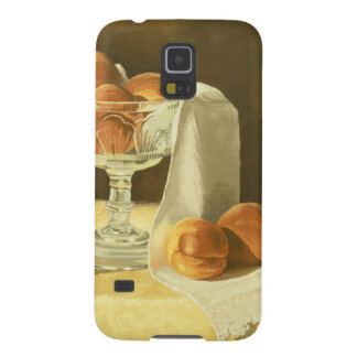 1181 Peaches in Glass Compote Case For Galaxy S5