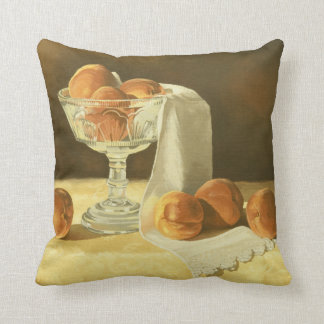1181 Peaches in Glass Compote Cushion