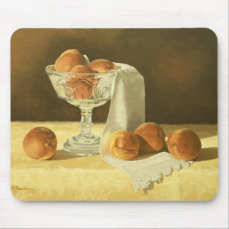 1181 Peaches in Glass Compote Mousepads
