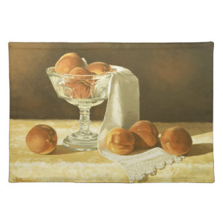 1181 Peaches in Glass Compote Placemats