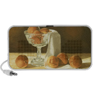 1181 Peaches in Glass Compote Notebook Speakers