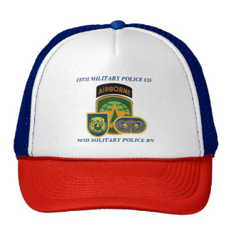 118TH MILITARY POLICE COMPANY HAT