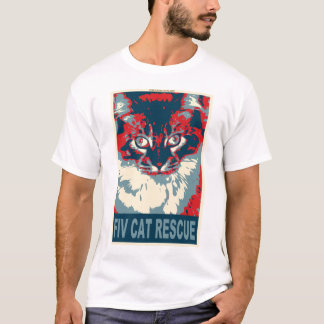 1194465-fiv-cat-rescue T-Shirt