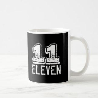 11:11 Funny 11 Eleven Basic White Mug