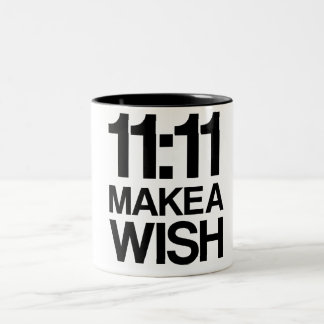 11:11 MAKE A WISH mug