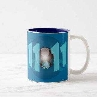 11:11 Two-Tone COFFEE MUG