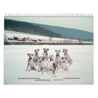 11-2008_02, The Double D Dalmatian... - Customized Calendar