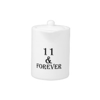 11 And  Forever Birthday Designs