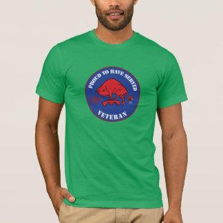 11 armour genius battalion veteran 43 Mechbrig T-Shirt
