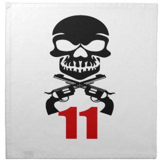 11 Birthday Designs Napkin
